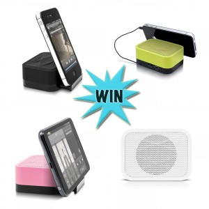Winning An iFit-1 Portable Speaker And Stand Should Be Music To Your Ears