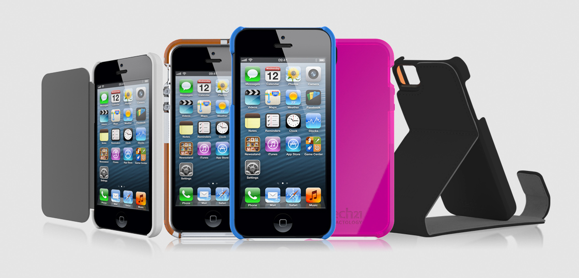 Tech21 Launches New Line Of iPhone 5 Cases
