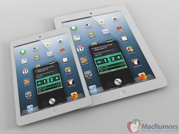 Incredible! New Renderings Show What The iPad Mini Could Look Like