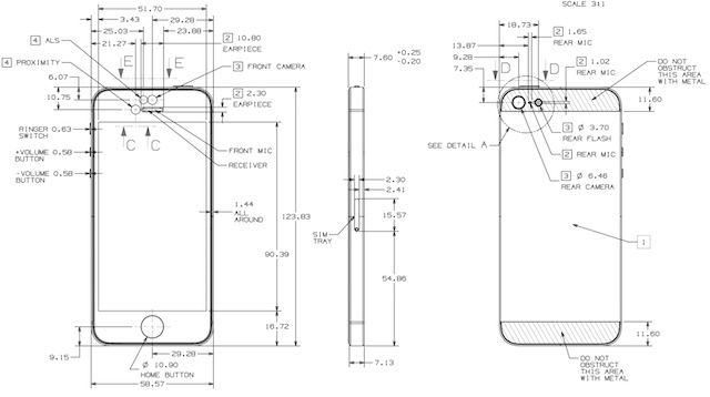 Design Your Own iPhone 5 Cases With Apple's Official Schematics