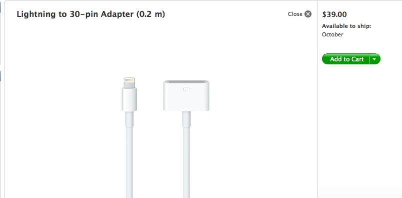 Really, Apple? $39?