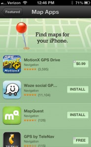 Apple Highlighting Alternative Map Apps In The App Store