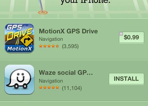 Apple Highlighting Alternative Map Apps In The App Store