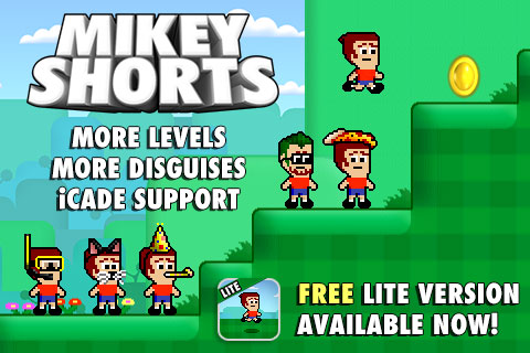Mikey Shorts Update Runs Into The App Store Along With A Free Version