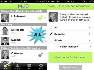 Replace Your Business Cards With MoID, Plus Enter To Win An iTunes Gift Card
