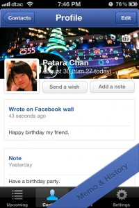Birthday Box - Facebook Birthday Reminder, Wishes Send and Respond by Sarun Wongpatcharapakorn screenshot