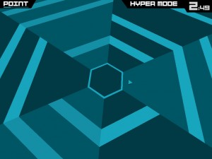 Super Hexagon by Terry Cavanagh screenshot