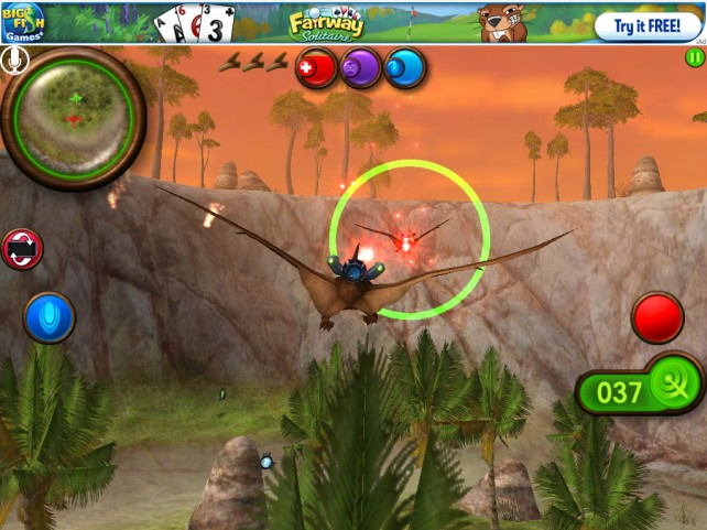 Pangea Launches Nanosaur 2: Battle Into The App Store