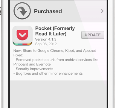 Pocket Shows Some Love For Google Chrome, App.Net And Kippt Users