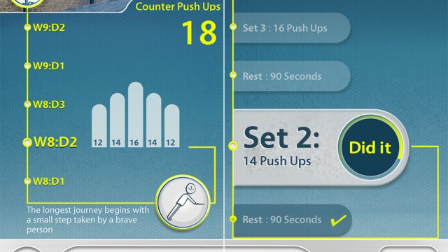 ClearSky Launches PushUps, Another Goodie For Your Digital Fitness Bag