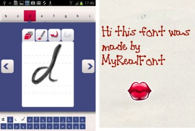 MyRealFont Makes Creating Personal Fonts Fun, Easy And It Is Free