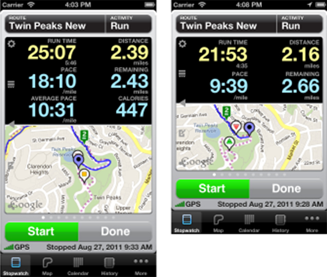 Abvio Enhances Runmeter, Walkmeter And Cyclemeter With iPhone 5 Support And More