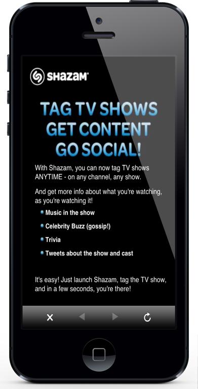 Shazam TV