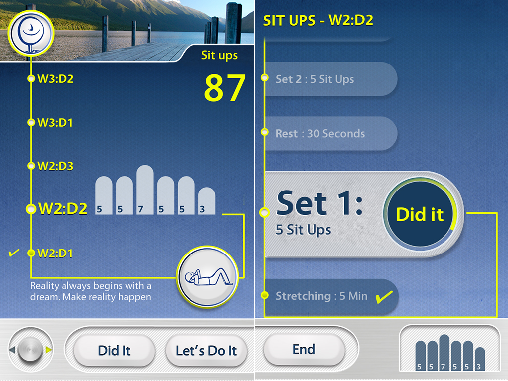 ClearSky Wants You To Keep That Exercising Routine Going, But Now With SitUps