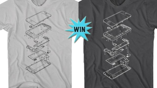 Win An Exploded iPhone T-Shirt And Make Your Dedication Clear