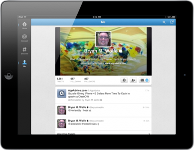 Twitter 5.0 Offers New Home Screen For iPad Customers And More
