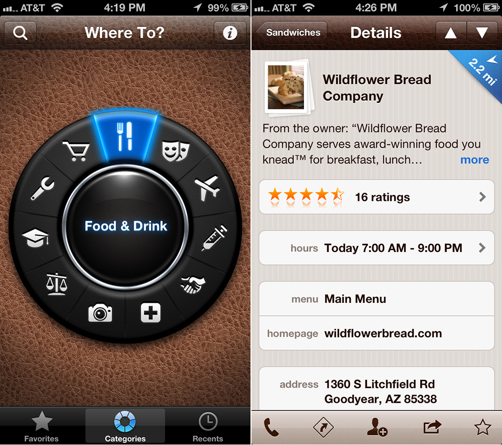 Where To? Joins The iOS 6 And iPhone 5-Optimized Apps Group