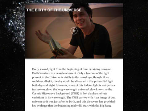 Brian Cox's Wonders Of The Universe Turns Universal With Native iPhone Support