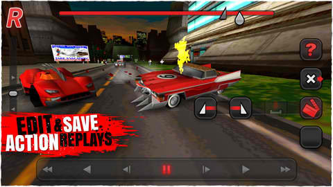 Car-Induced Carnage Awaits In Carmageddon For iOS, Free During Launch Day!