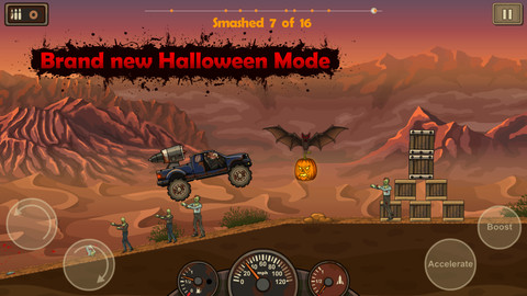 Earn To Die's Pumpkin-Filled Halloween Update Is Sure To Be A Smash Hit