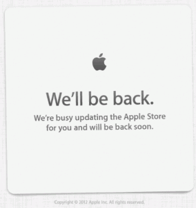 It Begins: Apple Store Offline Ahead Of Special Event