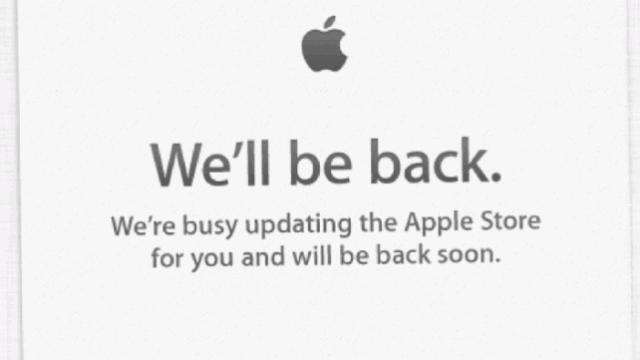 It Begins: Apple Store Offline Ahead Of Special Event