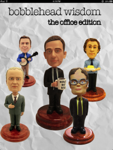 Quirky App Of The Day: Bobblehead Wisdom: The Office Edition