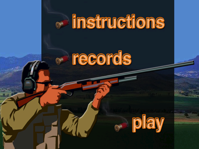 Quirky App Of The Day: Clay Pigeon Shooting