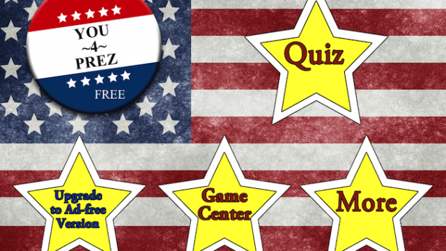 Quirky App Of The Day: You 4 Prez Could Put You In The White House