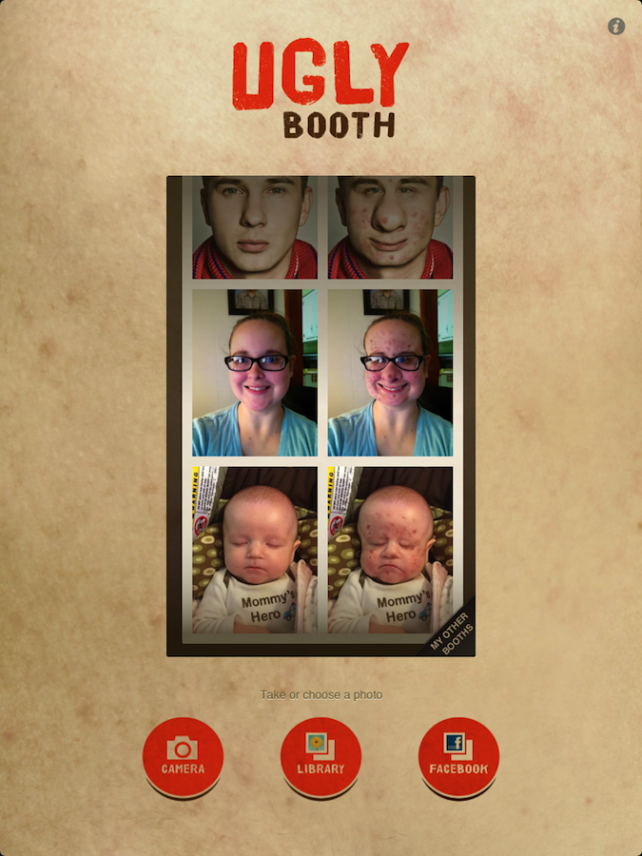 Quirky App Of The Day: Ugly Booth Brings Better Appreciation For Your Natural Beauty