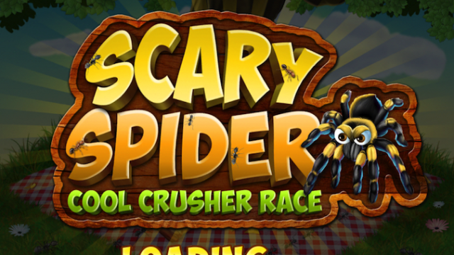 Quirky App Of The Day: A Spider Scary Cool Crusher Race