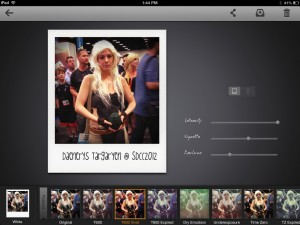 Instant: The Polaroid Instant Photos for iPad by ThinkTime Creations LLC screenshot