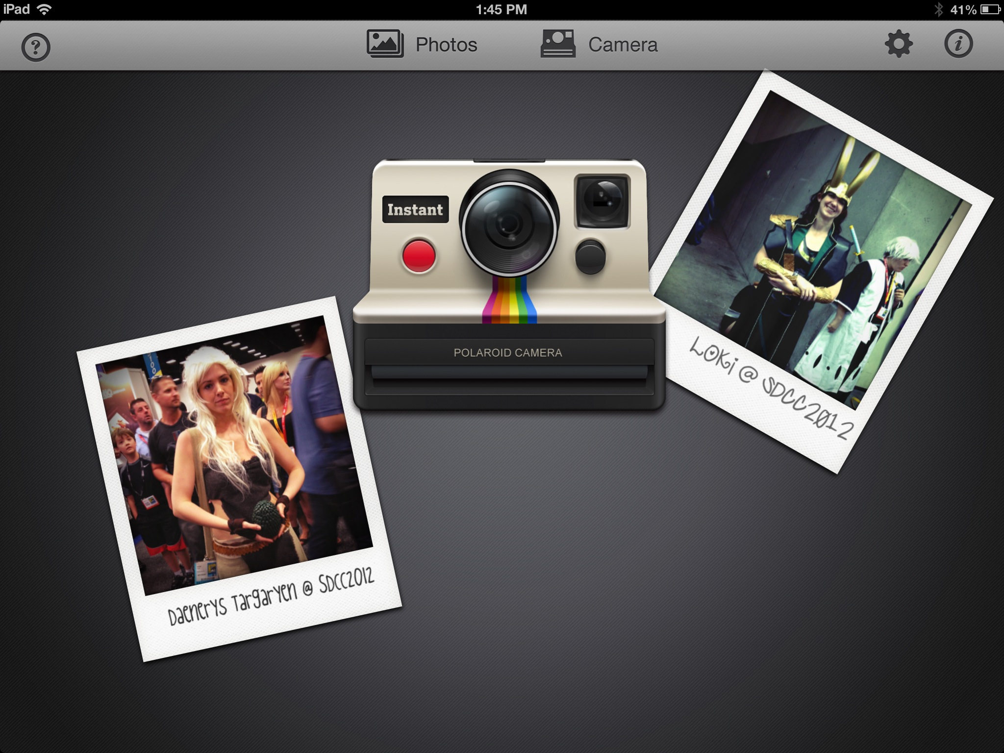 See The Magic Of Polaroid Photos With Instant On Your iPad