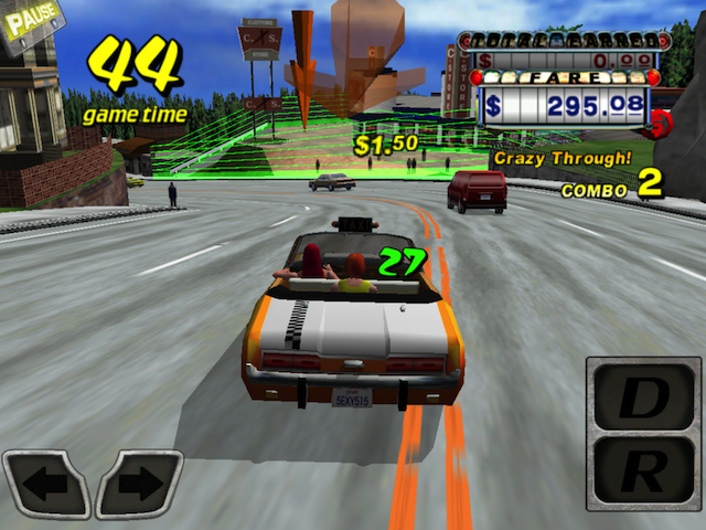 Crazy Taxi Drives Madly Into The App Store