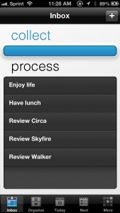 See GTD Apps In A New Way With Walker - The Smartest Productivity App For iPhone