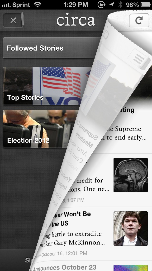 Circa Makes Digesting The Day's Top News A Little Bit Easier