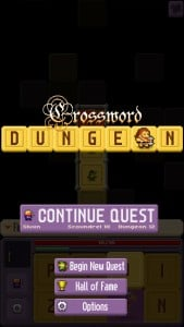 Crossword Dungeon by Nolithius screenshot