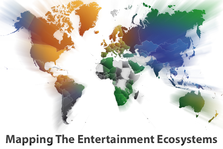 New Tool Maps The Entertainment Ecosystem Worldwide For Apple And Three Competitors