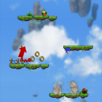 Leap To New Heights In Sonic Jump