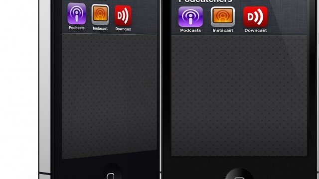 It's A Podcatcher App Showdown: Podcasts Vs. Instacast Vs. Downcast
