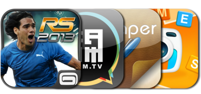 Today's Best Apps: Real Soccer 2013, Riddle Pic, BAMM.tv And More