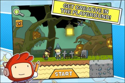 Trick Or Treat! Scribblenauts Remix Draws A Monstrous Halloween Update