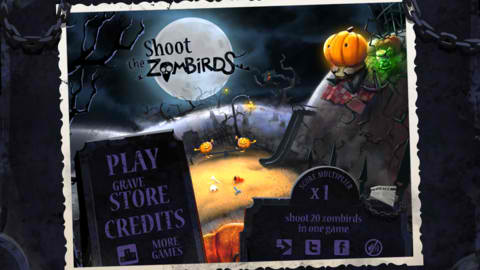 Halloween Is In The Air In Spooky Shooting Game Shoot The Zombirds