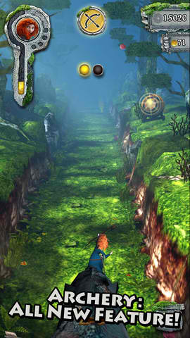 Are You Brave Enough To Enter A New Spirit World In Temple Run: Brave?