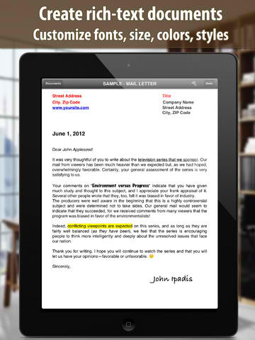 RTF Word Processing App Textilus Writes Up New Features And Improvements
