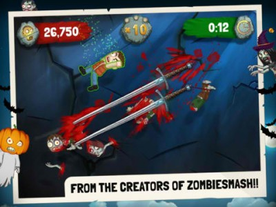 Wipe Out The Undead In Zombie Swipeout HD, Complete With Gory Retina iPad Graphics