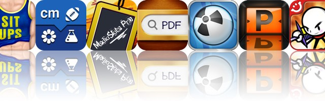 Today's Apps Gone Free: SitUps 0 To 200, Convertible, MediaSlate Pro And More