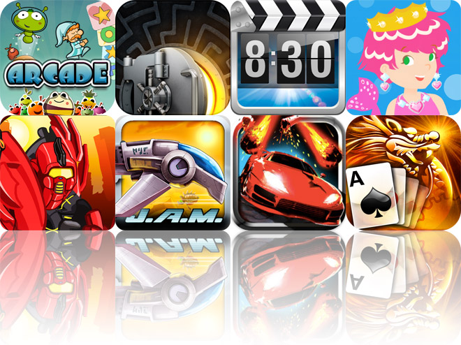 Today's Apps Gone Free: Igloo Games Arcade, The Heist, Alarm - Weather Alarm Clock And More