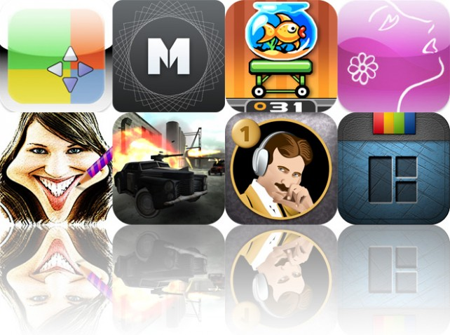 Today's Apps Gone Free: Priority Matrix, Mirrorgram, Fishbowl Racer And More