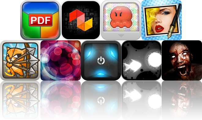 Today's Apps Gone Free: PDF Printer, MUSaIC, Oh Hi! Octopi! And More